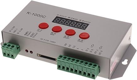 Fenteer Mini LED Controlador Dimmer RF Wifi Control Remoto Inal/ámbrico DC 5~28V