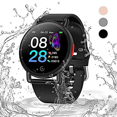 Oriver Smart Watch with Big Color Screen, Step ...