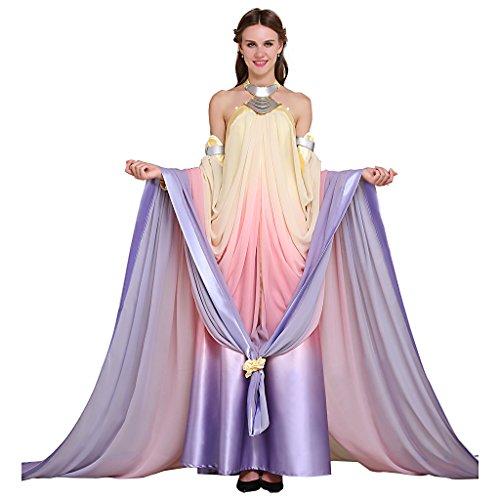 Fortunehouse Star 3 Padme Amidala Naberrie - Disfraz de película para Halloween