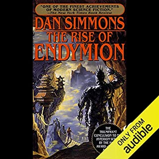 The Rise of Endymion  audiobook cover art