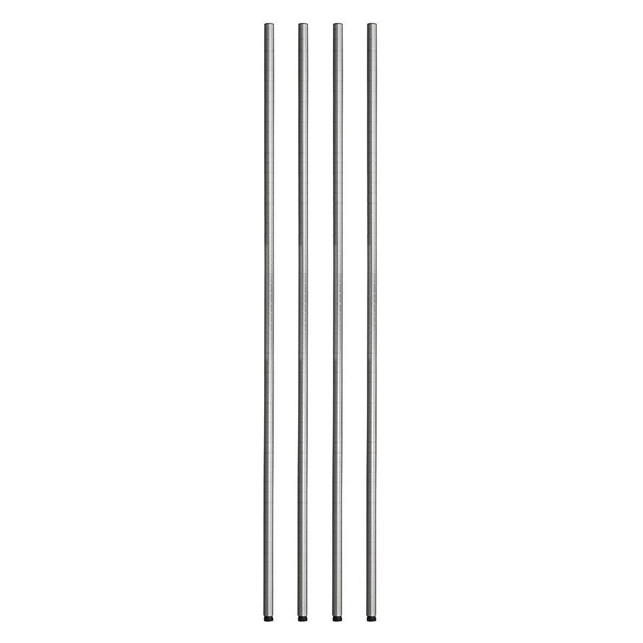 こする基礎理論フィラデルフィアルミナス ポール径25mm用パーツ ポール(支柱) ポール 152cm(4本セット) 高さ152cm 25P150*4