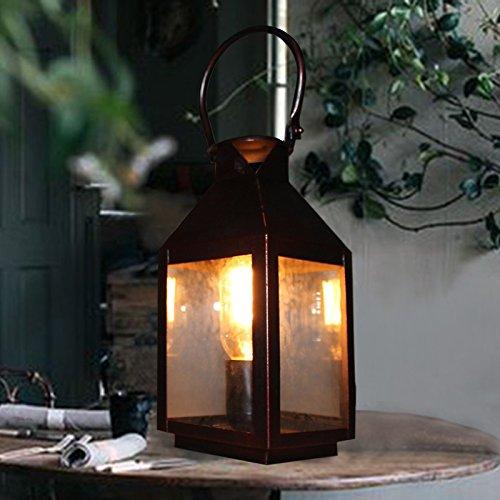 motes uvar Retro Americanas–Moderna Wind personalidad decorativa Café iluminación lámpara Farol, General., regulador Cambiar