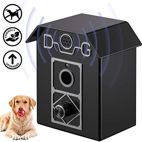 ULTPEAK AntibellHalsband Ultraschall Anti-Bellen-Gerät,Ultraschall-Hundebellen Wasserdichter für den Innen- und Außenbereich, Sicher für Hunde