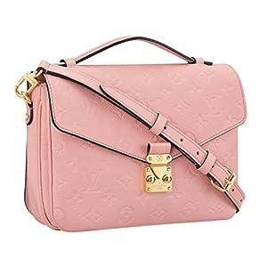 Fashion Shopping Louis Vuitton Monogram Empreinte Leather Pochette Metis Handbag Article: M44018 Made in France