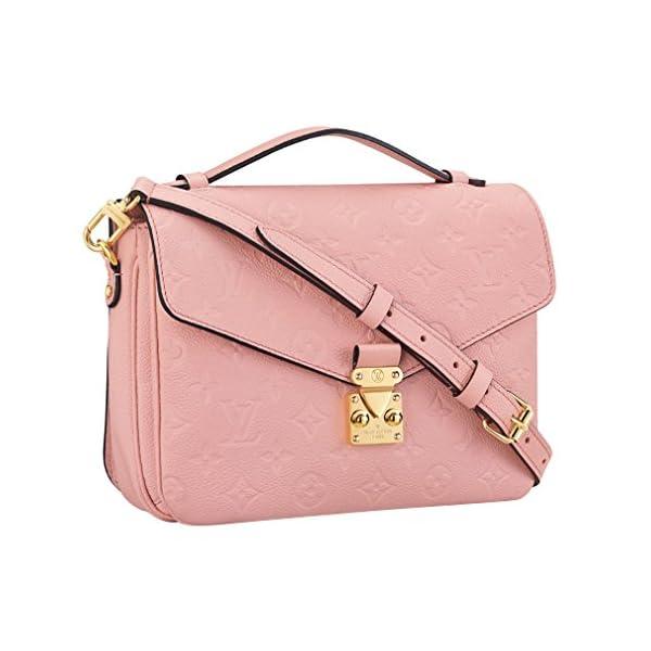 Fashion Shopping Louis Vuitton Monogram Empreinte Leather Pochette Metis Handbag