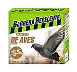 Compo Barrera Repelente de Aves, Protege hasta 4 m, 16 Platos de 20 g