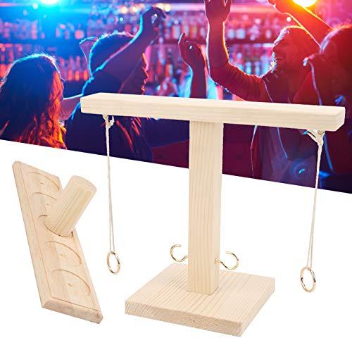 BOLORAMO Tablero de Mano con Escalera, Juegos de Gancho de Tablero de Mano Hechos a Mano para Juegos de Bar en casa para Salas de Juegos