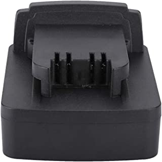Ciglow Battery Adapter, DCB200 DCB205 Li-ion Battery to Milwaukee M18 Battery Adapter Current Converter for Dewalt.