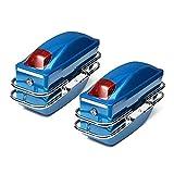 Motorrad-Tasche 1 Paar Universal Side Boxs Gepäckträger Schwanz Werkzeugtasche Hard Case...