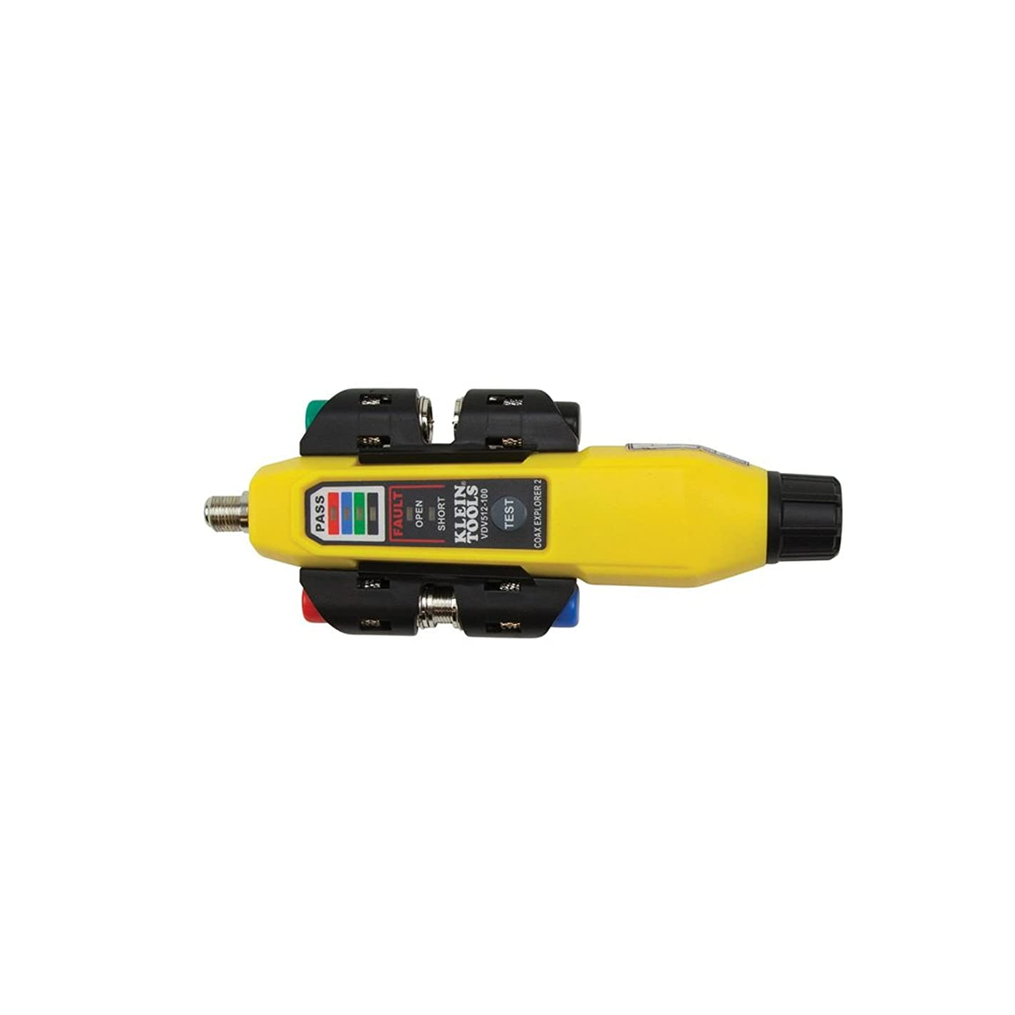 Coax Tester Tracer Mapper with Remote Kit, Test up to 4 Locations, Explorer 2 Klein Tools VDV512-101