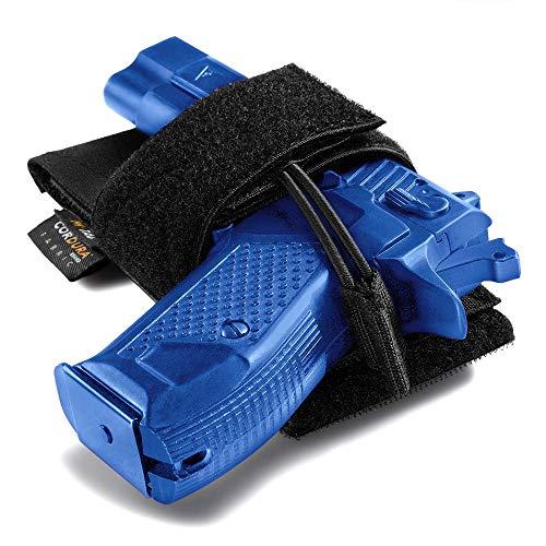 M-Tac CCW Holster - Modular Universal Holster - Gun Pistol Gear - Holsters for Gun Safe (Black)