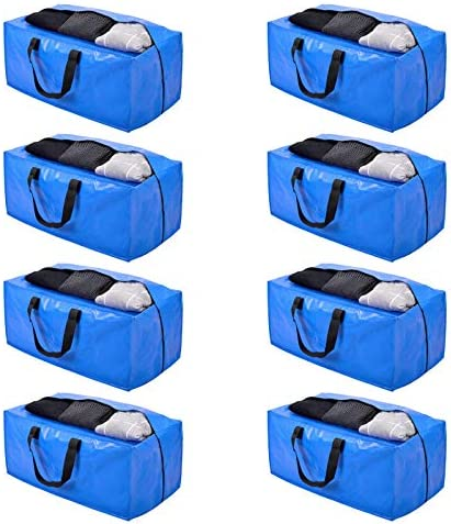 Moving Bags Storage Totes Extra Large Storage Bags for Moving Supplies College Dorm Essentials product image