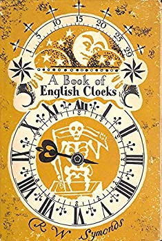 Hardcover A Book Of English Clocks. King Penguin No. 28 Book