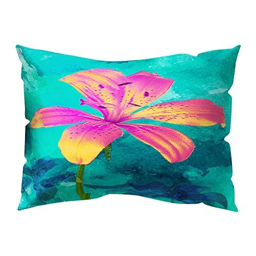 Arystk Print Pillow Case Polyester Sofa Car Cushion Cover Home Decor 30 X 50cm