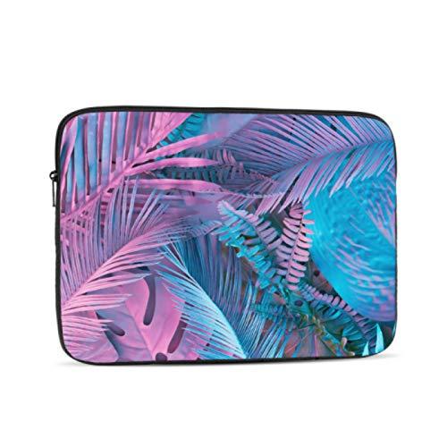 Funda para MacBook Pro 2017, colorida y creativa, diseño de hojas, multicolor y opciones de tamaño de 10/12/13/15/17 pulgadas, maletín para tablet, multicolor (Multicolor) - laptopbag-3222-20210302