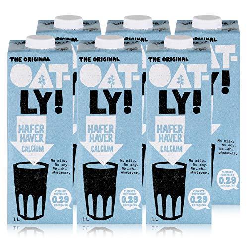 Oatly - Haferdrink Calcium - Packung mit 6 (6 x 1 liter)
