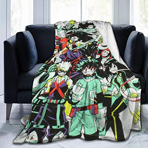 Corashopping My Hero Academia My Super Lightweight Wool Throw Blanket