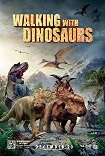 Super Posters Walking with Dinosaurs 13.5x20 INCH D/S Promo Movie Poster