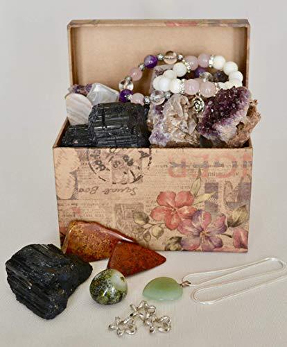 Mystery box, random box of crystals, mystery jewelry box, minerals mystery box, gemstone surprise bo