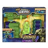 Combinazioni differenti del blaster Design ispirato a Hulk Collega le varie parti per costruire il tuo blaster Lancia i dardi Nerf in dotazione Nerf Assembler Gear ispirato ad Avengers: Infinity War