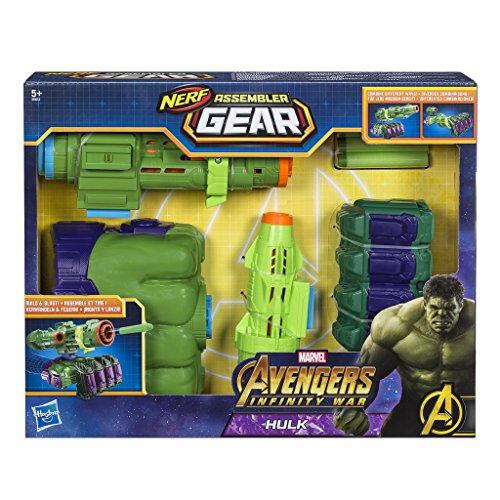 Hasbro Avengers E0612EU4 Assembler Gear Hulk, Spielzeugblaster
