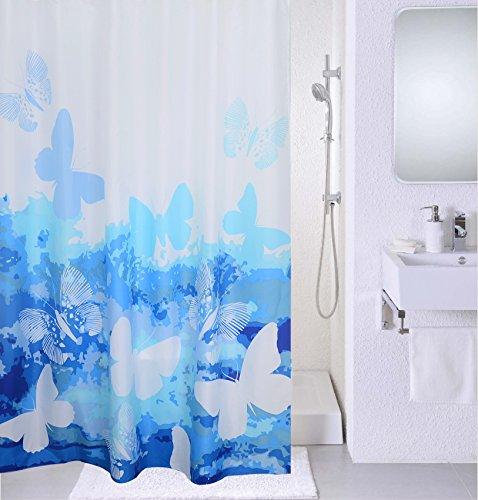 Magic Vida - Tenda da doccia per bagno, colore acceso...