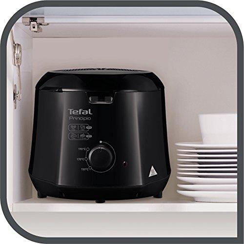 T-fal FF230850 Cool-Touch Mini Deep-Fryer, 1.2-Liter, Black
