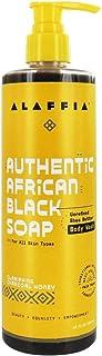 Alaffia, Charcoal Honey Authentic African Black Soap, 12 Fl Oz