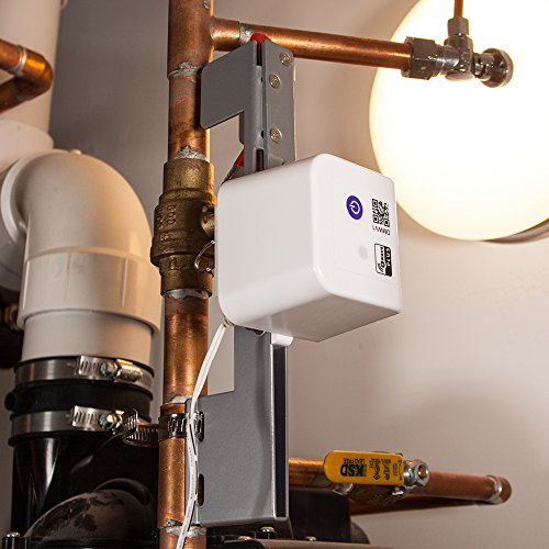 Dome Home Automation Water Shut-Off Valve - for Pipes up to 1 1/2', White (DMWV1)