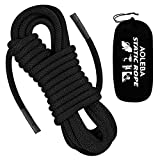 AOLEBA 10.5 mm Static Climbing Rope 10M(32ft) 20M(64ft) 30M(96ft) Outdoor Rock Climbing Rope, Escape Rope Ice Climbing Equipment Fire Rescue Parachute Rope