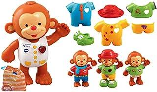 comprar comparacion VTech - Armando el mono, Monito interactivo para aprender a vestirlo, enseña los colores, hábitos para vestirse, emociones...