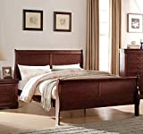 ACME Furniture Louis Philippe 23747EK Eastern King Bed, Cherry