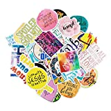 Cool Stickers Waterproof & Sun-Protection 50 Pieces of Jesus Stickers Graffiti Hand Account Stickers Trolley Case Removable Car Stickers for Christian