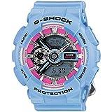 Casio G-Shock S Series Floral Patterns Reloj de cuarzo para mujer GMAS110F-2A