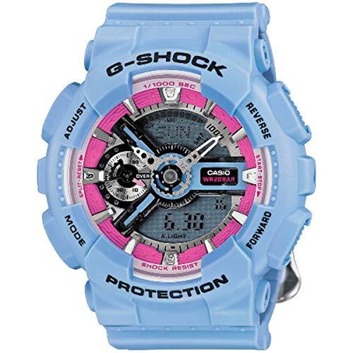 Casio G-Shock S Series GMAS110F-2A Reloj de cuarzo para mujer