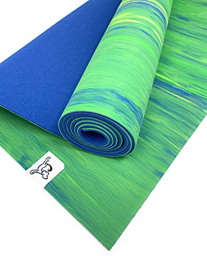 Tiggar Yoga mat For Yin Yoga, 100% Eco Friendly, Natural Rubber Material, excellent for support and stability in all types...