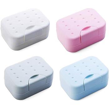 1 Stück Neue wasserdichte Silikon Seifenhalter Box Bad Teller Toilette