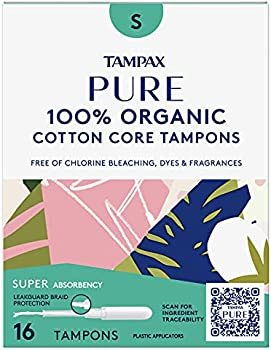 48-Count Tampax Super Absorbency Pure Tampons