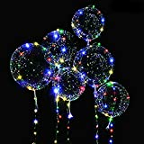 Best Pcs With Balloons Pumps - 6 Packs LED Light Up BoBo Balloons Colorful Review