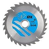 OX Wood Cutting Circular Saw Blade 210/30mm, 28 Teeth ATB