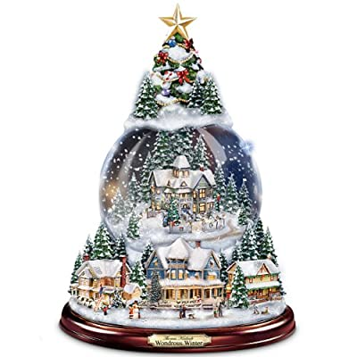 Unique Musical Christmas Snow Globe as Holiday Gifts •