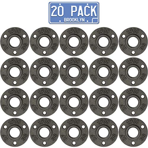 Brooklyn Pipe Flange - 20 Pack 1/2