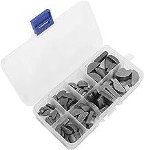 Metalen Woodruff Keys Halfcirkel Assortiment Box Kit Set Verschillende Maten 80 Stks