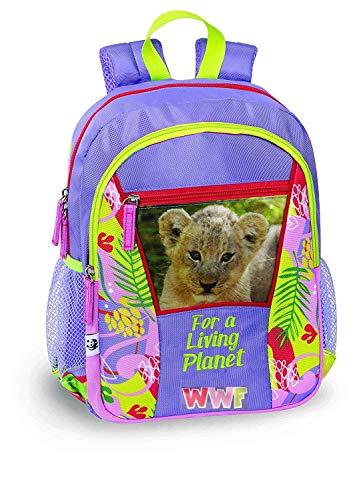 Zaino scuola Organizzato WWF Jungle Girl 60345