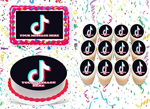 Custom Order Unicorn Lol Doll /& Logo Printed Cake//Cupcake Topper Edible Icing