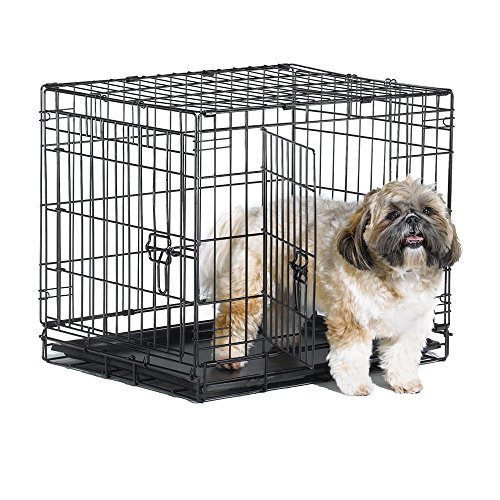 New World Double Door Folding Metal Dog Crate