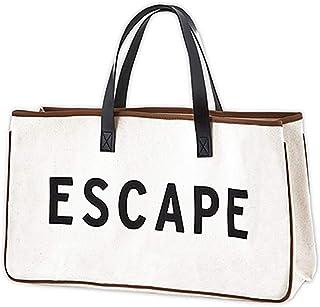 Weekend Vibes Canvas Beach Bag, Beach Tote, Carry Bag by Santa Barbara Design Studio (Escape)