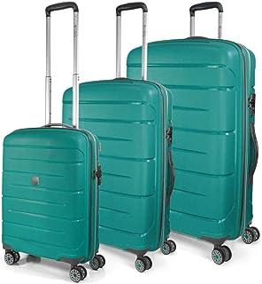 MODO by Roncato Unisex-Adult's Luggage Set, Emerald, 79 cm