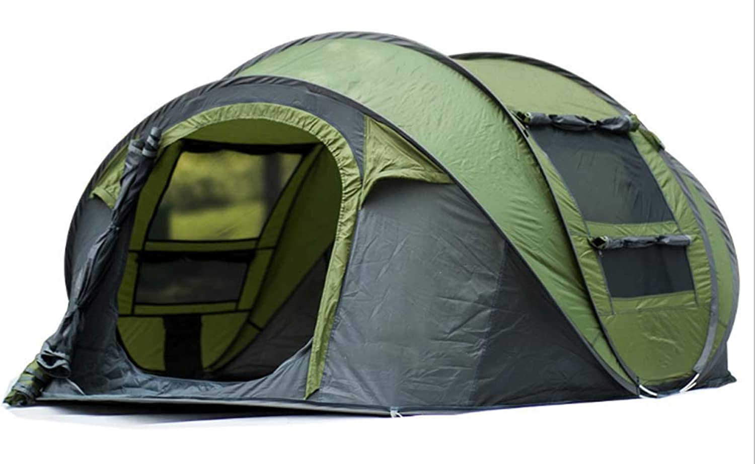 34Person Popup Camping Hiking Tent Waterproof Outdoor Family Trip,1 Bedroom Family Dome Tent