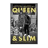 Carteles e impresiones de películas Queen & Slim, póster de arte de pared, póster de decoración del hogar e impresiones, pintura en lienzo, impresiones en la pared-50x70cm sin marco